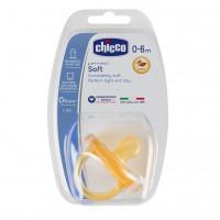 Chicco Cumlík celokaučukový Physio Soft 0-6m+