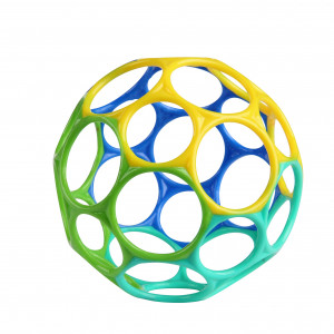 Hračka Oball™ Classic 10 cm modro/ zelená 0m+