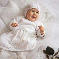 Súprava ku krstu dievčenská veľ. 68 | Eko