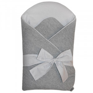 Zavinovačka z pleteniny Grey-Grey 75x75cm | Eko