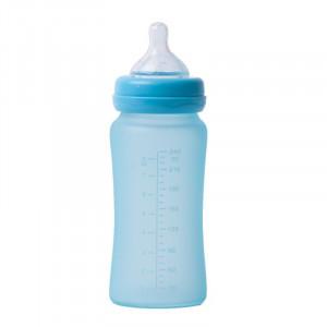 Bo Jungle | Sklenená fľaša s úchytmi B-Thermo 240ml Turquoise