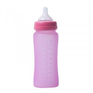 Bo Jungle | Sklenená fľaša s úchytmi B-Thermo 300ml Pink