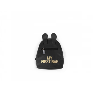 Childhome Detský batoh My First Bag Black