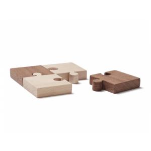 Puzzle drevené 4 ks Neo