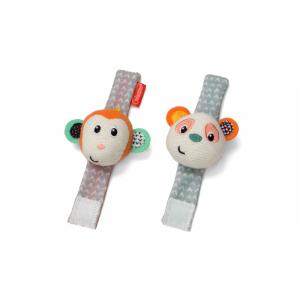 Infantino Hrkálky na ruku Opička a Panda