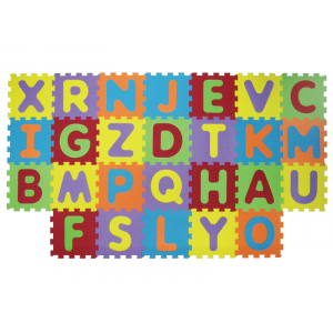 LUDI Puzzle penové 199x115 cm písmena