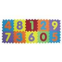 LUDI Puzzle penové 196x112 cm čísla