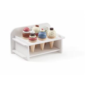 Kids Concept Zmrzlina drevená so stojanom Bistro