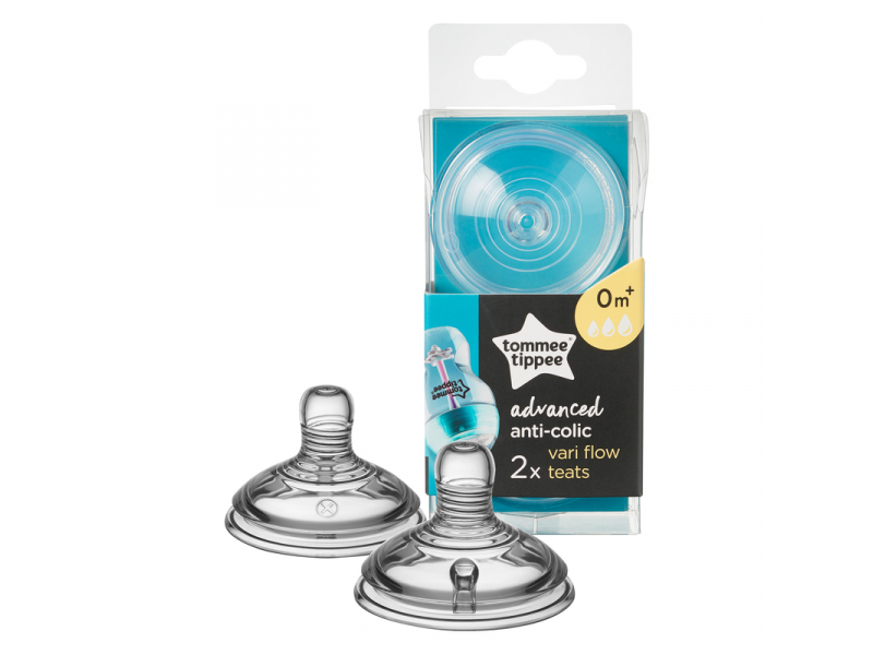 Tommee Tippee Náhradný cumlík Advanced Anti-Colic Vari Flow 2ks 0m+