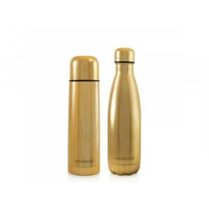 Miniland Sada termosky a termofľaše DeLuxe zlatá