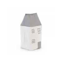 Childhome Box na hračky Dom Grey Off White