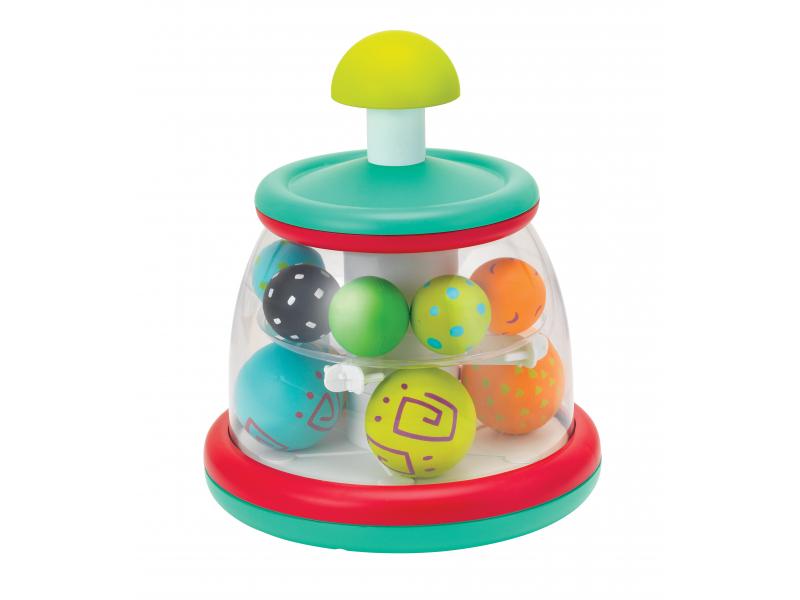 B-KIDS Hrací pult s rotujúcimi loptami