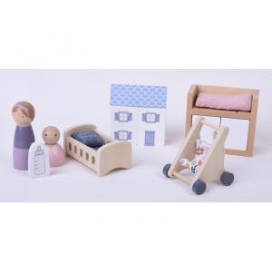 Little Dutch Set do domčeka - detská izbička