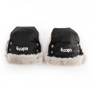 ZOPA Zimné rukavice Fluffy, Night Black