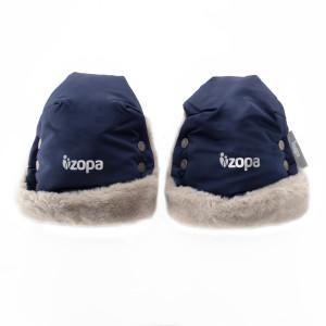 ZOPA Zimné rukavice Fluffy, Royal Blue