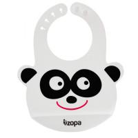 ZOPA Silikónový podbradník, Panda