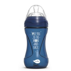NUVITA Fľaška Mimic Cool 250ml, Night blue