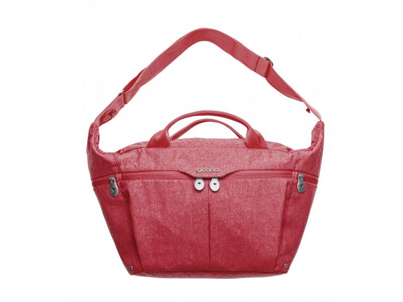 DOONA Celodenná prebaľovacia taška, Red