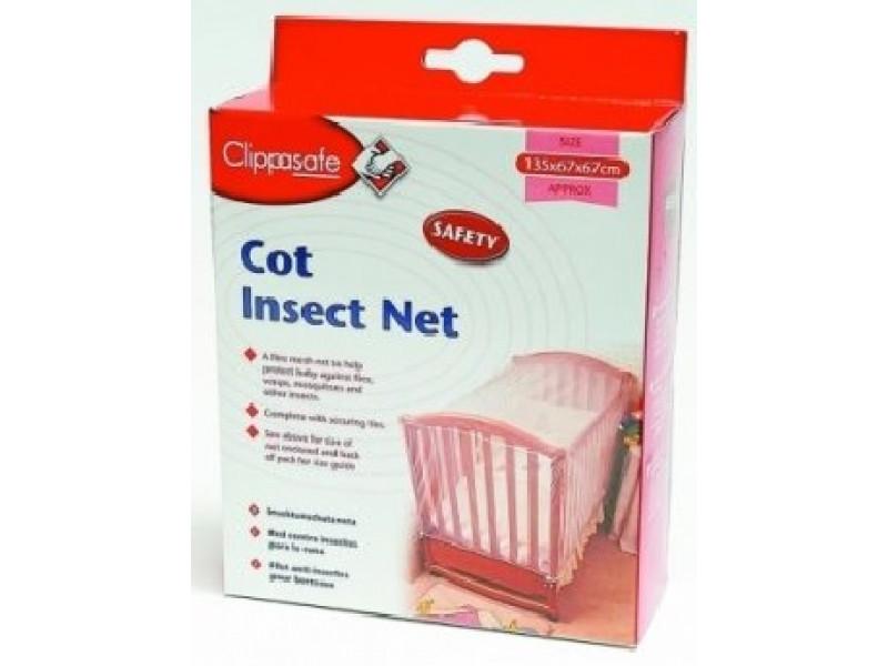CLIPPASAFE Sieť proti hmyzu na postieľku