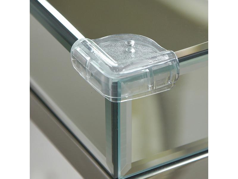 CLIPPASAFE Plastová ochrana sklenených rohov