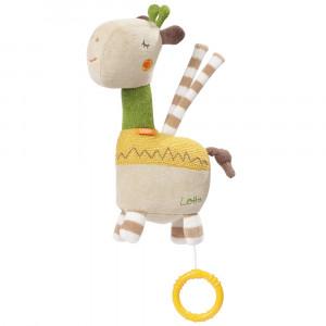 BABY FEHN Hracia hračka žirafa, Loopy&Lotta