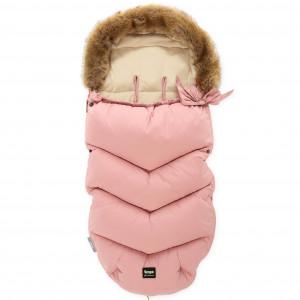 ZOPA Zimný fusak Fluffy, Old Pink