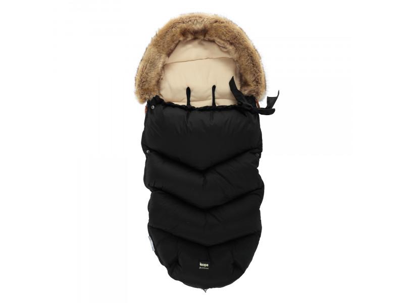 ZOPA Zimný fusak Fluffy, Night Black