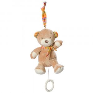 BABY FEHN Rainbow mini-hrací medvedík
