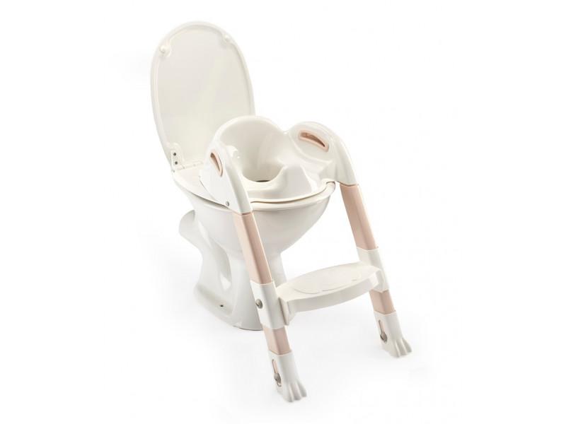 THERMOBABY Stolička - schodíky na wc Kiddyloo, Off White