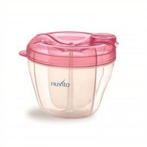 NUVITA Dávkovač na sušené mlieko, ružový
