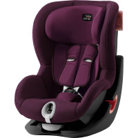 BRITAX RÖMER King II Black, Burgundy Red