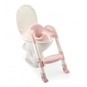 THERMOBABY Stolička - schodíky na wc Kiddyloo, Powder Pink
