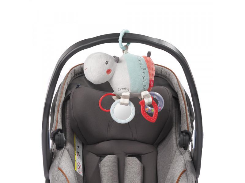 BABY FEHN Aktivity hračka hroch, Loopy&Lotta