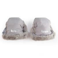 ZOPA Zimné rukavice Fluffy, Foggy Grey