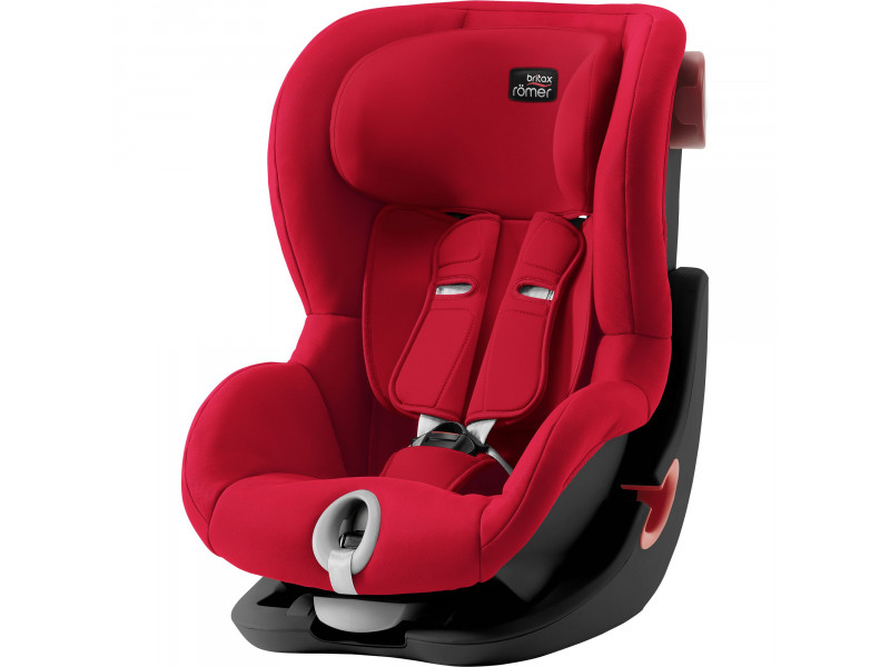 BRITAX RÖMER King II Black, Fire Red