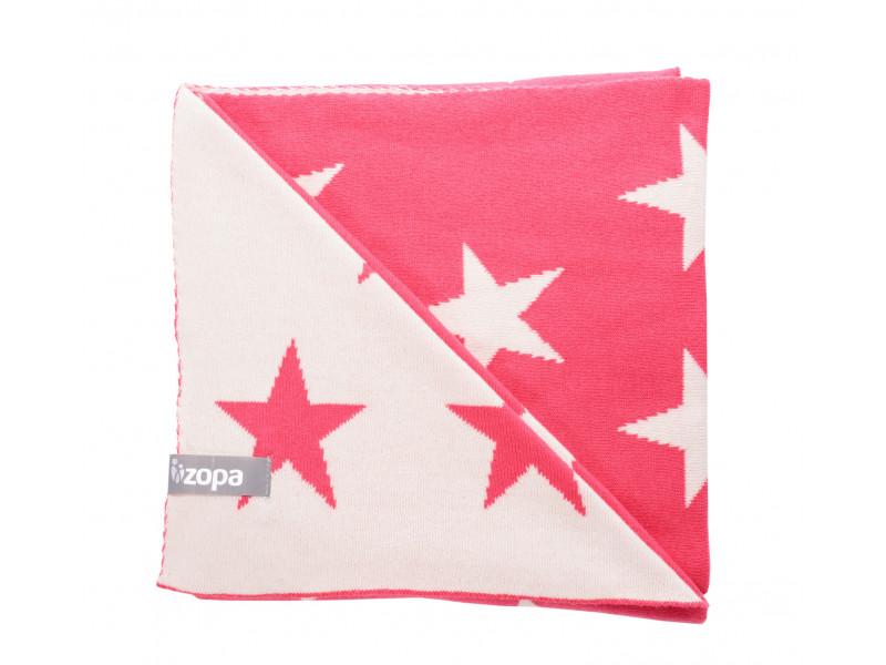 ZOPA Detská deka STARS, Redwine