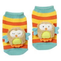 BABY FEHN Forest hrkajúce ponožky SOVA