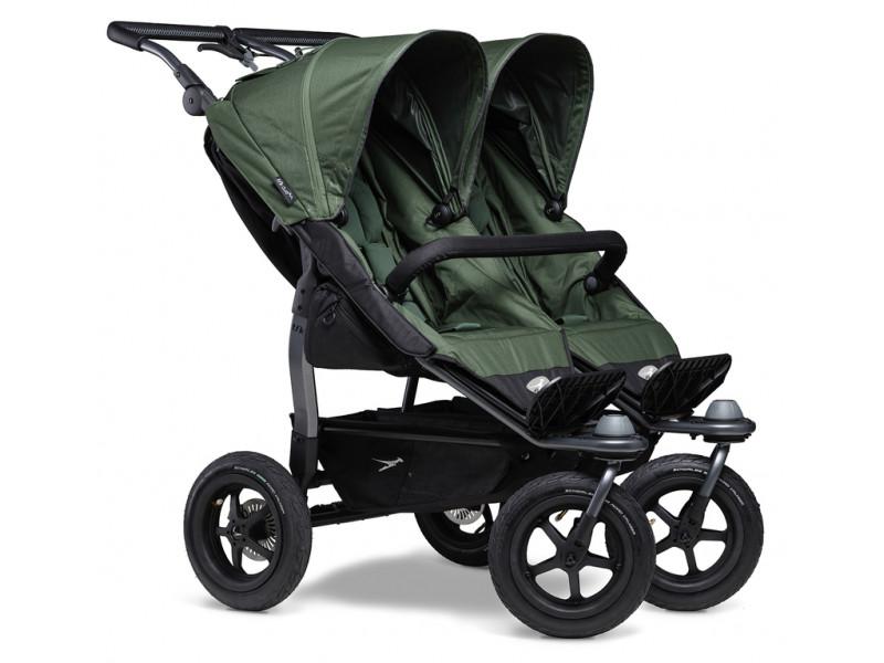TFK športový kočík  Duo stroller - air wheel oliv