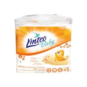 Prebaľovacie podložky Linteo Baby 5ks