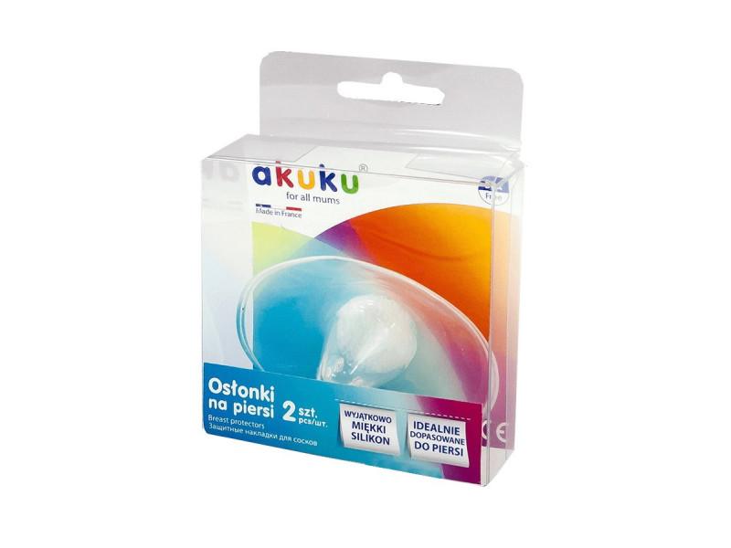 Chrániče prsných bradaviek Akuku 2ks