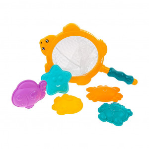 Hračky do vody sitko s hračkami Akuku