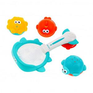 Hračky do vody kôš s hračkami Akuku