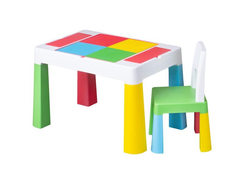 Detská sada stolček a stolička Multifun multicolor
