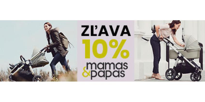 Týždeň zliav so značkou Mamas & papas