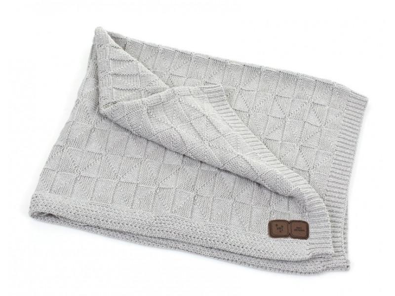 ABC Design Deka pletená 100x100cm grey