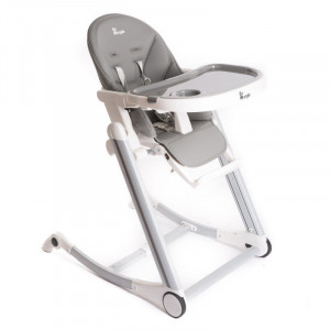 BO Jungle Jedálenská stolička B-HIGH CHAIR Grey