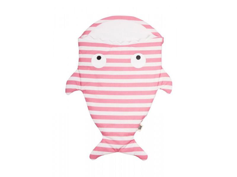 Baby Bites Spací vak NEWBORN Pink Sailor