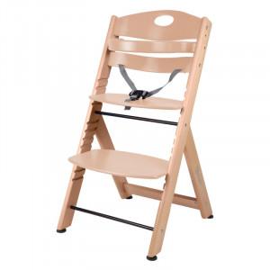 BabyGo jedálenská stolička FAMILY XL Natural