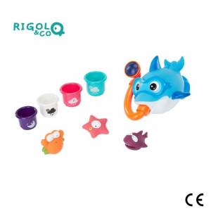 Badabulle Sada hračiek do vody Rigolo & CO