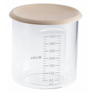 Beaba Kelímok na jedlo 420ml pudrový